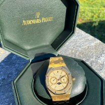 Audemars Piguet Royal Oak Day-Date Oro amarillo Blanco
