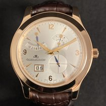 Jaeger-LeCoultre Master Eight Days Rose gold 41.5mm Silver Arabic numerals