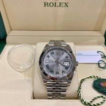 Rolex Datejust Acier 41mm Gris France, Paris