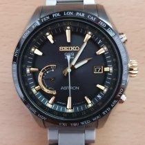 Seiko Astron GPS Solar Chronograph Titane 44.8mm Noir Sans chiffres France, DOMONT