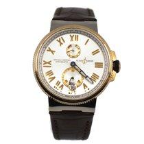 Ulysse Nardin 1185-122/41 Or/Acier Marine Chronometer Manufacture 45mm occasion