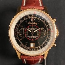 Breitling Watch pre-owned 2006 Rose gold 43mm No numerals Manual winding Watch with original box and original papers