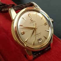 Omega Or jaune 34,5mm Remontage automatique 2757 SC occasion