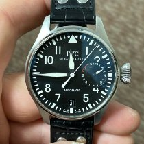 IWC Big Pilot Steel 46mm Black Arabic numerals United States of America, Texas, FRISCO