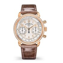 Patek Philippe Chronograph Rose gold 38mm Silver Arabic numerals United States of America, New York, New York
