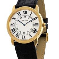 Cartier Ronde Solo de Cartier new Quartz Watch with original box and original papers W6701008