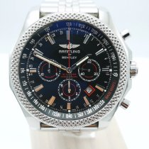 Breitling Bentley Barnato Acero 49mm Negro