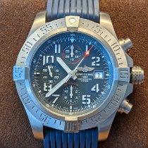 Breitling Avenger Bandit occasion 45mm Bleu Chronographe Date Caoutchouc