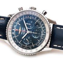 Breitling Navitimer 01 (46 MM) occasion 46mm Bleu Chronographe Date Cuir