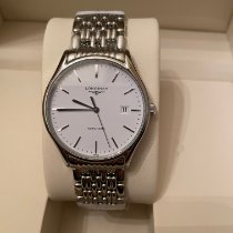 Longines Lyre Steel 38.5mm White