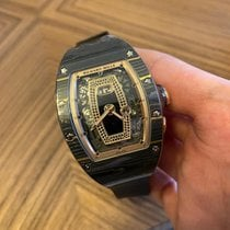 Richard Mille RM 037 Carbon 52.63mm Transparent No numerals