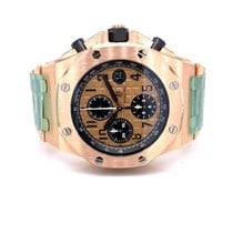 Audemars Piguet Royal Oak Offshore Chronograph Rose gold 42mm Gold Arabic numerals United States of America, California, Beverly Hills