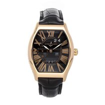 Ulysse Nardin Rose gold Automatic Black Arabic numerals 43mm pre-owned Michelangelo