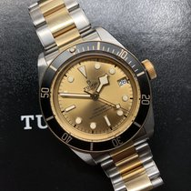 Tudor 79733N Gold/Steel 2020 Black Bay S&G 41mm pre-owned United States of America, California, Calabasas