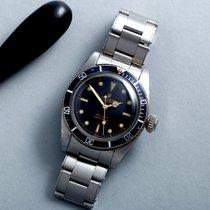 Rolex Submariner (No Date) Acier 38mm Noir Sans chiffres