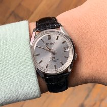 Seiko pre-owned 37.6mm Silver