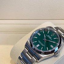Rolex Oyster Perpetual 36 Ocel 36mm Zelená Bez čísel