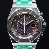 Audemars Piguet Royal Oak Offshore Chronograph Steel 42mm Blue United States of America, Massachusetts, Boston