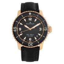 Blancpain Fifty Fathoms usados 45mm Negro Fecha