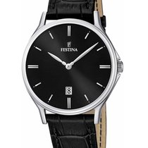 Festina Steel 39mm Quartz F16745/5 new