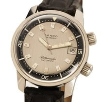 Lanco Steel 36.6mm Automatic pre-owned