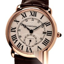 Cartier Ronde Louis Cartier Or rose 40mm Argent Romains