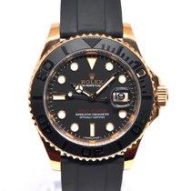 Rolex Yacht-Master 40 Oro rosa 40mm Negro Sin cifras España, Marbella