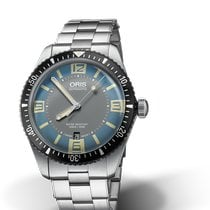 Oris Divers Sixty Five Steel 40mm Blue United States of America, New York, New York