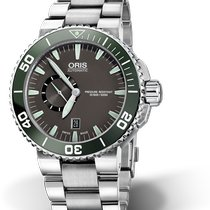Oris Aquis Small Second Steel Grey United States of America, New York, New York
