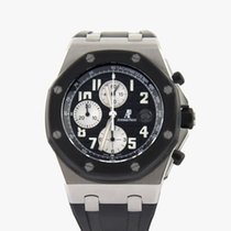 Audemars Piguet Royal Oak Offshore Chronograph Acier 42mm Noir Arabes France, Paris