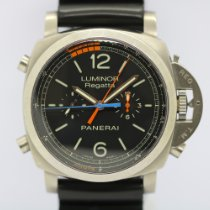 Panerai Luminor 1950 Regatta 3 Days Chrono Flyback Titane 47mm Noir Arabes