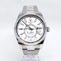Rolex Sky-Dweller Steel 42mm White No numerals United Kingdom, Rickmansworth
