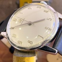 Omega pre-owned Manual winding Silver