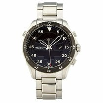 Hamilton Khaki Flight Timer Steel 40mm Black United States of America, Texas, Plano