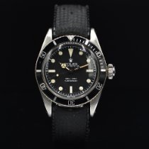Rolex Submariner (No Date) Steel 38mm Black No numerals