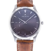 Zenith Elite Ultra Thin pre-owned 40mm Grey Leather