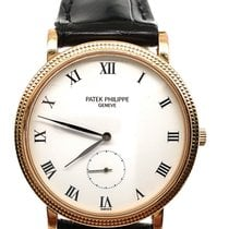 Patek Philippe Calatrava Yellow gold 33.3mm Silver United States of America, New York, NY