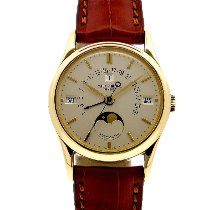 Patek Philippe Perpetual Calendar 5050 Very good Yellow gold 36mm Automatic