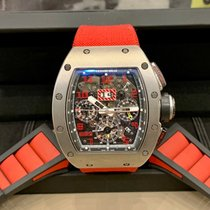 Richard Mille pre-owned Automatic 50mm Transparent Sapphire crystal 5 ATM