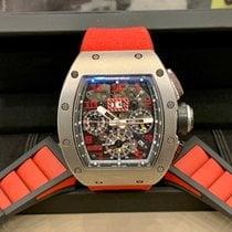 Richard Mille RM 011 Titanio 50mm Transparente Arábigos