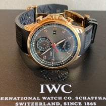 IWC Portuguese Yacht Club Chronograph IW390209 Very good Rose gold 45mm Automatic UAE, dubai