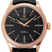 Rolex Cellini Time Pозовое золото 39mm