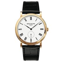 Patek Philippe Calatrava Yellow gold 36mm White Roman numerals