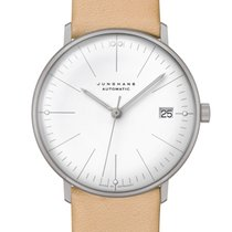 Junghans max bill Automatic Steel 34mm White