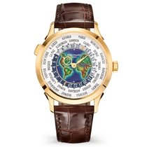 Patek Philippe World Time Yellow gold 38mm White Arabic numerals United States of America, New York, New York