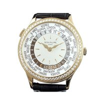 Patek Philippe Red gold Automatic White 36mm new World Time
