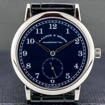 A. Lange & Söhne 1815 White gold 36mm Blue Arabic numerals United States of America, Massachusetts, Boston