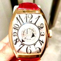 Franck Muller Casablanca Rose gold 39mm Champagne Arabic numerals