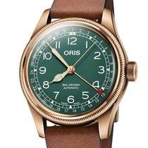 Oris Big Crown Pointer Date Bronze Vert