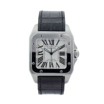 Cartier Santos 100 2656 Very good Steel 38mm Automatic United States of America, Georgia, ATLANTA